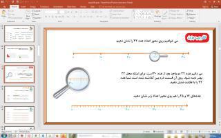پاورپوینت فصل 2 ریاضی دوم دبستان (ابتدایی): جمع و تفریق اعداد دو رقمی