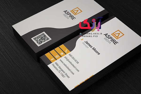 دانلود کارت ویزیت شخصی و شرکتی به صورت لایه باز - 3