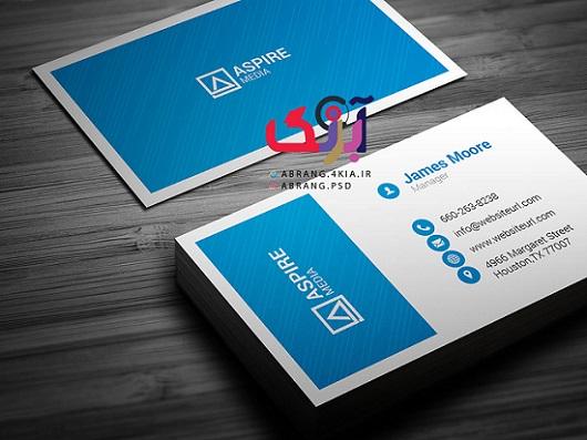 دانلود کارت ویزیت شخصی و شرکتی به صورت لایه باز - 4