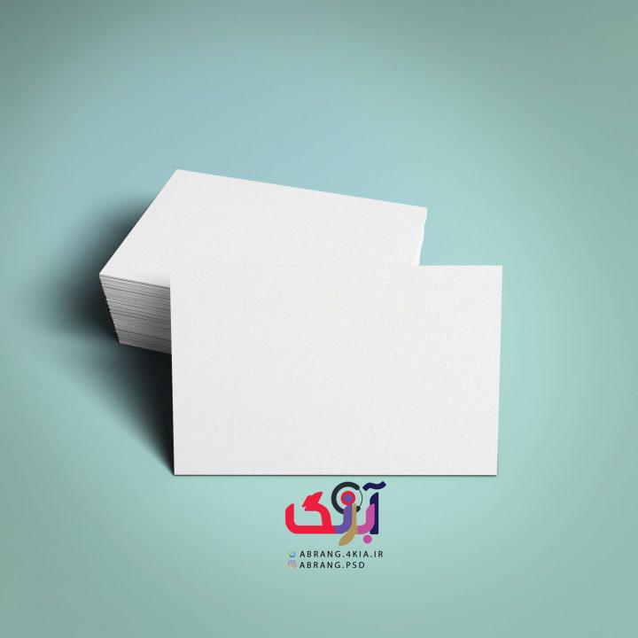 دانلود ۵ طرح لایه باز پیش نمایش کارت ویزیت