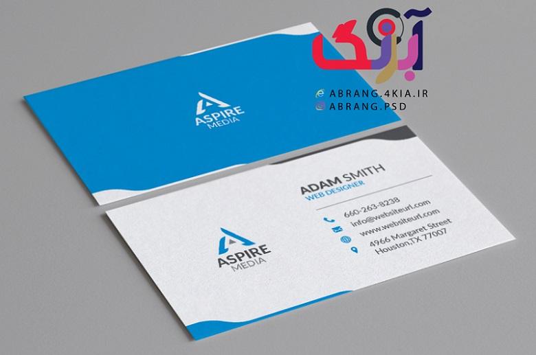 دانلود 5 عدد کارت ویزیت شخصی و شرکتی به صورت لایه باز -11