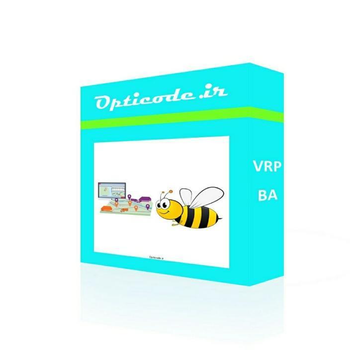 کد الگوریتم زنبور عسل مسئله مسیریابی وسیله نقلیه