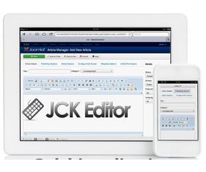 jck editor ادیتور مطالب جوملا 2.5 و 3.3