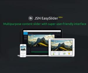 اسلایدشو لایه ای JSN Easy Slider PRO