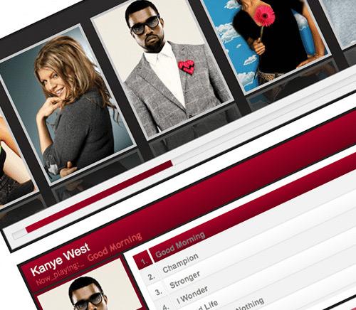 اسلایدشو و پلیر جوملا  Artist Showcase MP3 Player