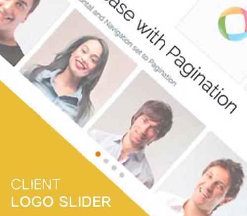 نمایش مشتریان و اسپانسرها با Client Logo Slider