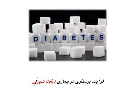 فرآیند پرستاری در بیماری دیابت شیرین