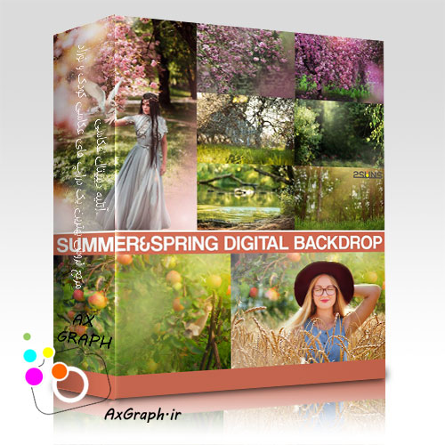 دانلود بک گراند عکاسی بهار و تابستان-کد 685