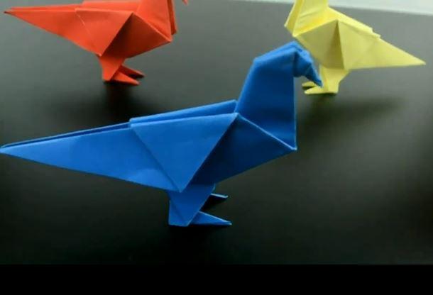 خرید فیلم آموزش اوریگامی کبوتر
