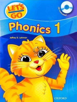 دانلود فایل های صوتی و پی دی اف Let's Go Phonics 1,2,3