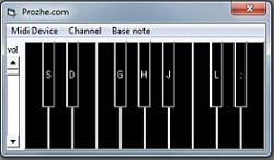 نرم افزار پیانو با ویژوال بیسیک