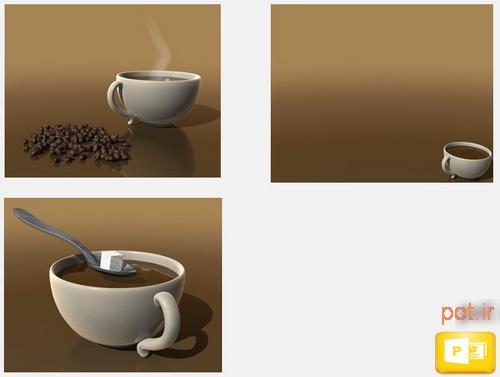 قالب فنجان قهوه