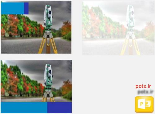 قالب دوربین نقشه برداری
